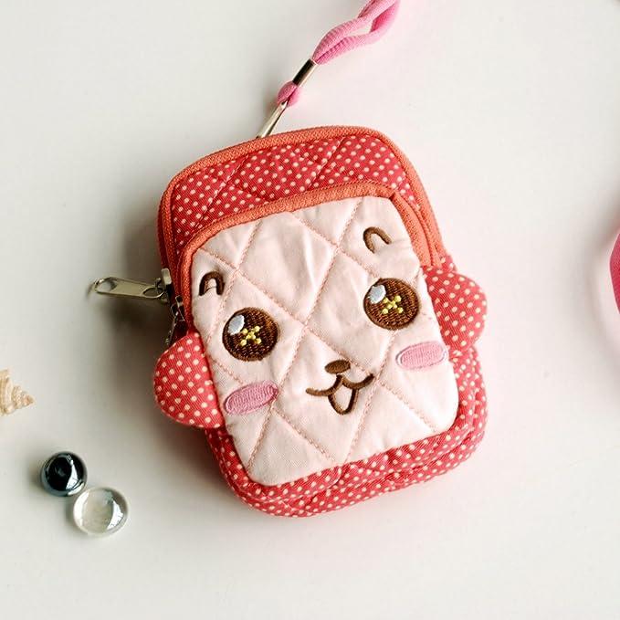 Amazon.com: [Cordial Monkey] Bolso de billetera bordado para ...
