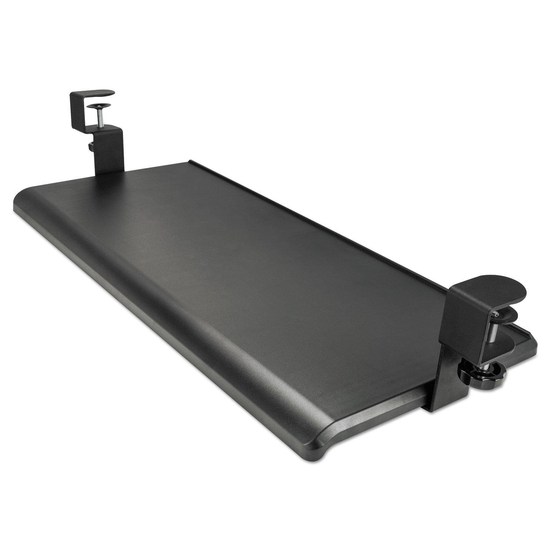 Alera KBT1B Adaptivergo Clamp-On Keyboard Tray, 27 1/2'' X 12 1/4'', Black