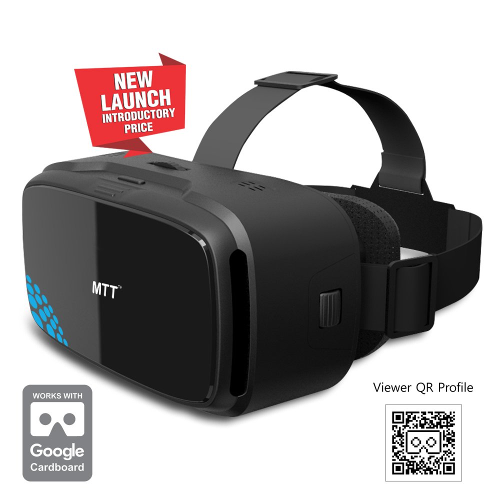 682e891925 MTT® 3D VR Headset Glass – Advanced Virtual Reality Glasses for iPhone 6s   6