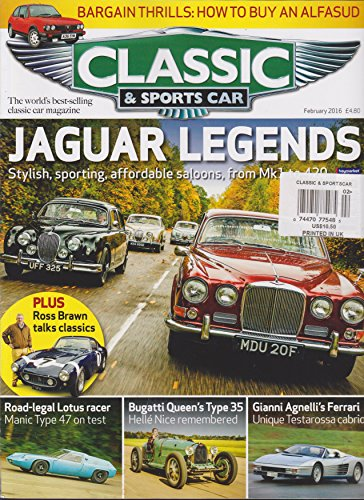 Classic & Sports Car Magazine February 2 - Universal Classic Cars Shopping Results