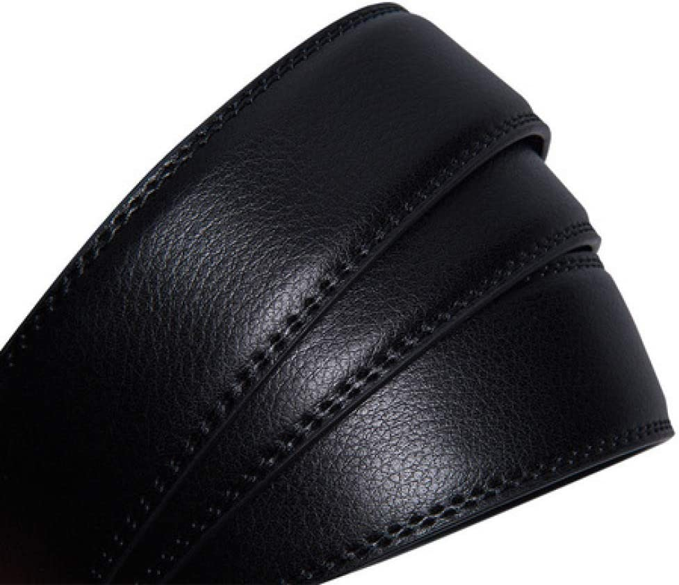 DENGDAI Mens Belts,Leather Belt,Belts for Mens Leather,Young Waist Bandwidth Belt Belt Length 120cm