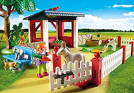 PLAYMOBIL Veterinaria - Playset clínica (5529): Amazon.es: Juguetes y juegos