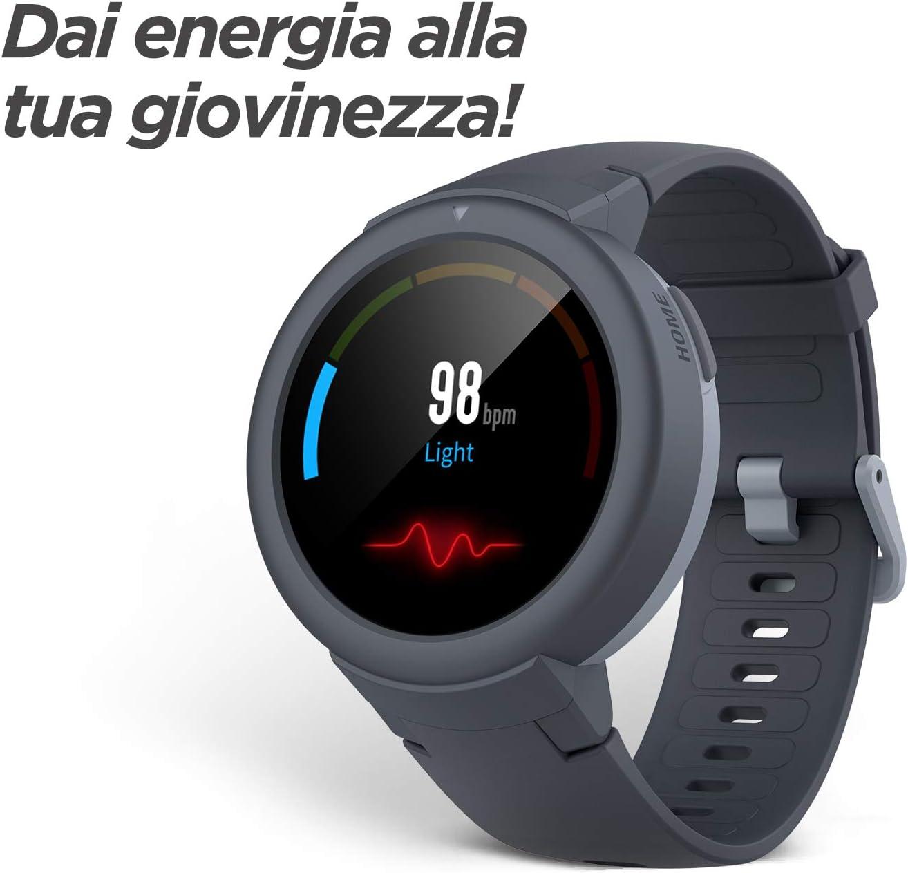 Amazfit Verge Lite - Reloj de Fitness Color Gris: Amazon.es ...