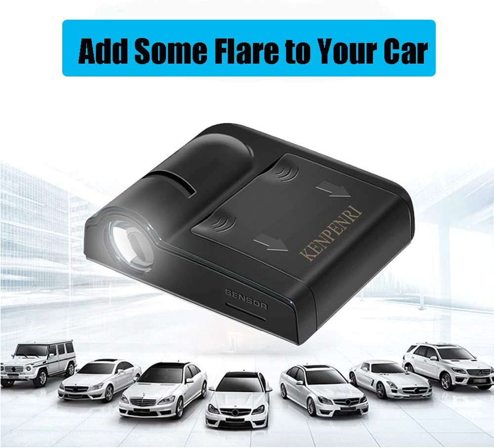 for San Francisco 49ers Car Door Led Welcome Laser Projector Suitable Fit for All Brands of Cars KENPENRI LED Door Projector Light San Francisco 49ers