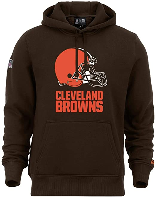 Cleveland Browns Football Fan Hoodie Hooded Sweater Thick Coat Train Pullover