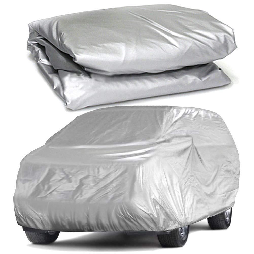1 funda impermeable para coche, protecció n UV, resistente al viento, resistente al polvo, resistente a los arañ azos, universal protección UV resistente a los arañazos MOOUK