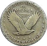 1919-1930 U.S. Standing Liberty Silver Quarter