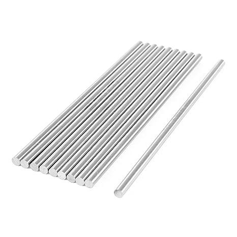 6mm x 100mm HSS Round Turning Lathe Carbide Bars Stick 10pcs
