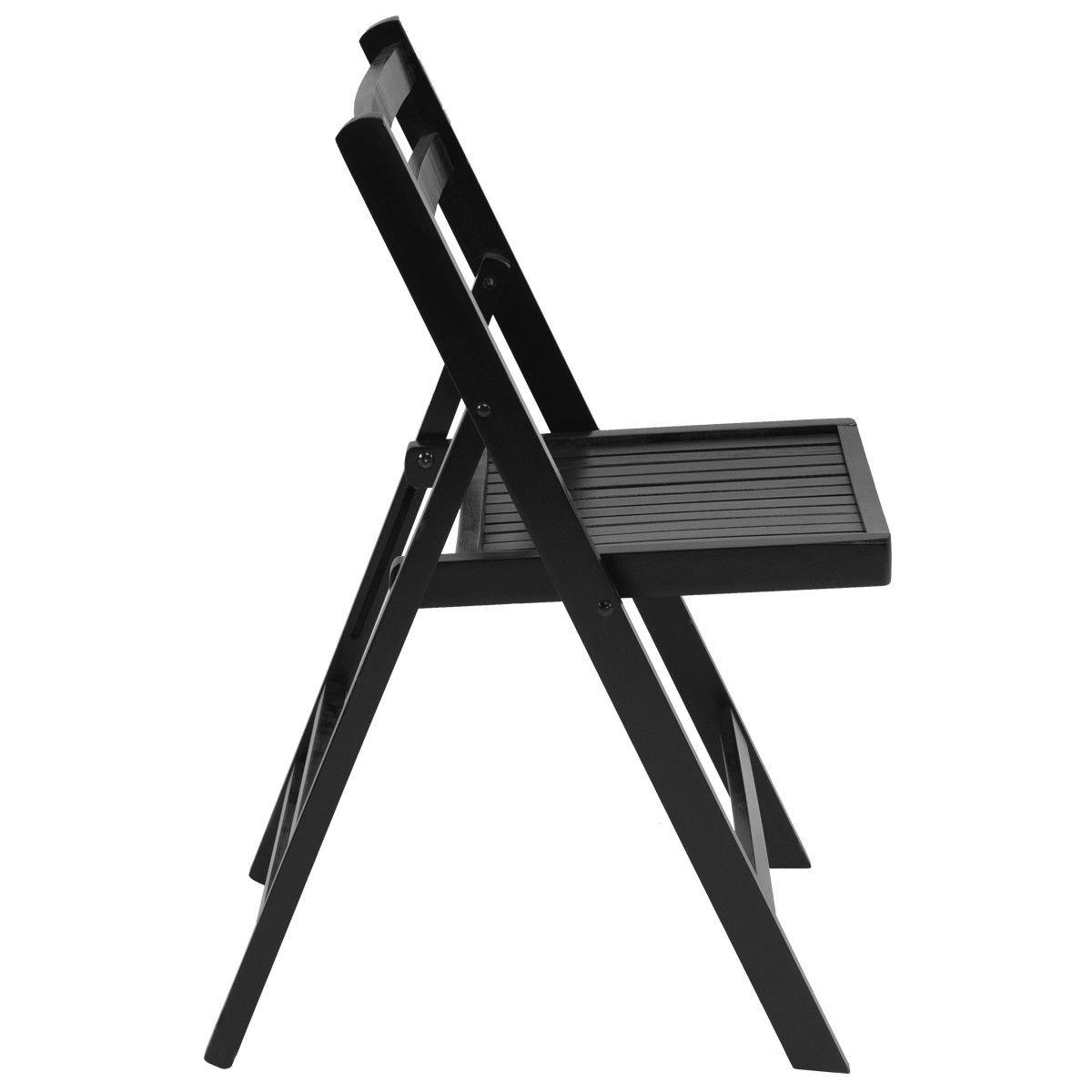 Amazon.com: FDInspiration - Juego de 4 sillas plegables de ...