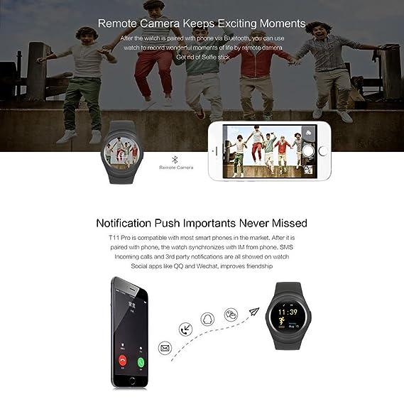 FATMOON Y1 Wireless Smart Watch Phone Unlocked Watch Cell
