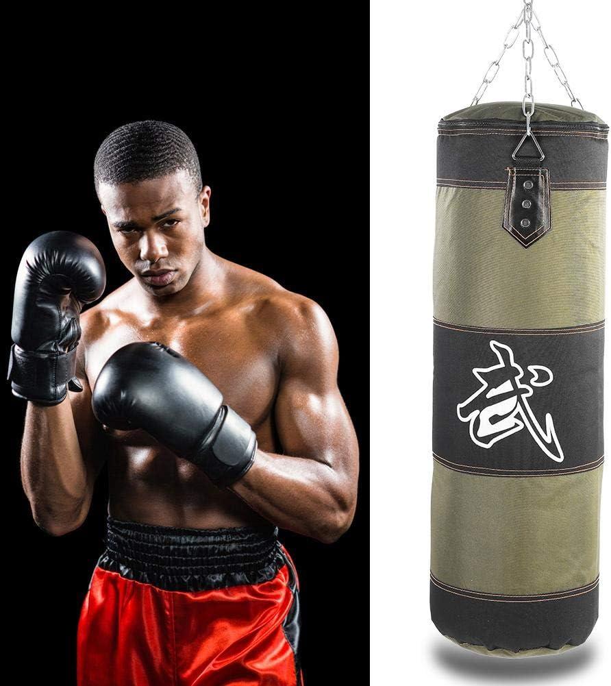 Soporte de Pared Rellenado Entrenamiento de Boxeo MMA Heavy Punch Guantes Cadena Muay Thai Kickboxing Saco de Boxeo Sin Relleno