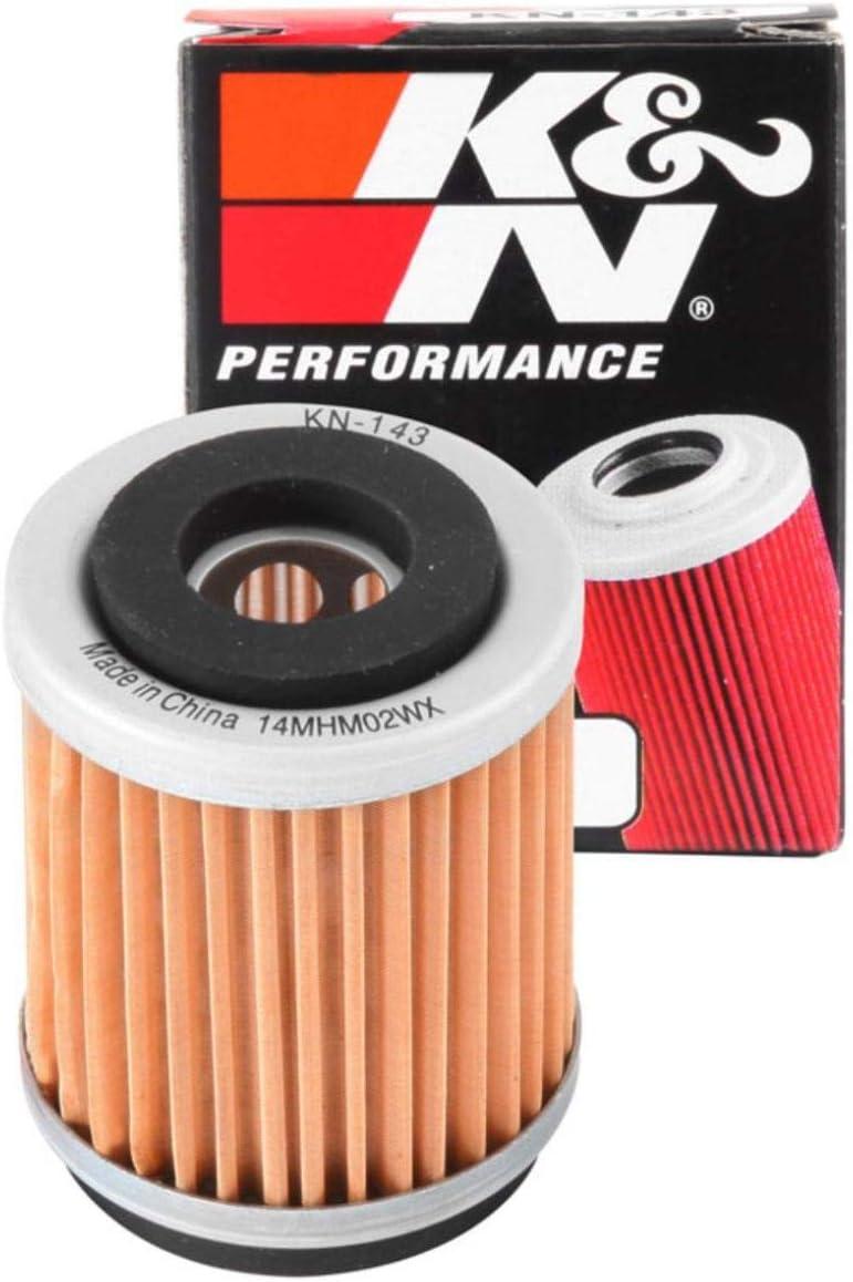 /Ölfilter K/&N KN303 f/ür Yamaha VMX-12 1200 Vmax