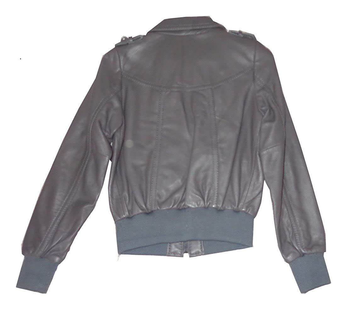 d352728289919 Knoles   Carter Women s Leather Bomber Jacket Style 6817 at Amazon Women s  Coats Shop