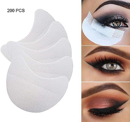 Almohadillas de Sombra de Ojos Blancas Almohadillas Adhesivas ...