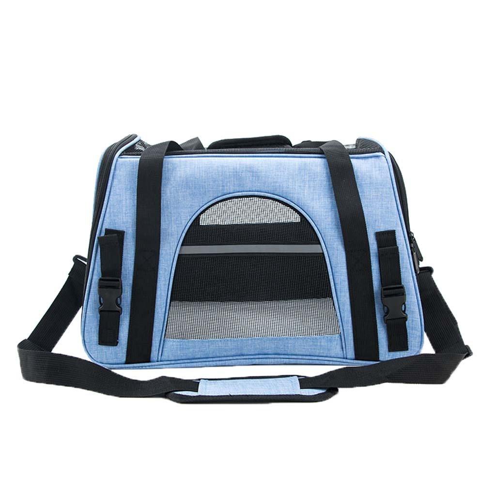 378f4444b08f bluee Pet Backpack Dog Cat Pet Travel Carrier,Waterproof Fabric ...