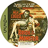 Bride of the Monster (1955) Classic Sci-fi and Horror Movie DVD-R by Tony McCoy