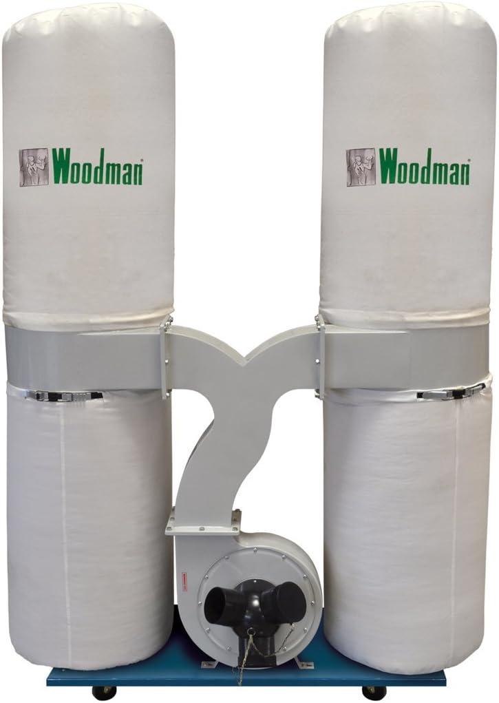 Aspirador Woodman DE-300/1 MONOFÁSICO 3 CABALLOS: Amazon.es ...