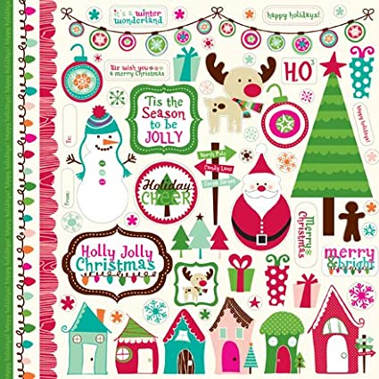 Holly Jolly Christmas Scrapbooking Collection Kit Item #:HJ20016TM Echo Park Copyright 2011