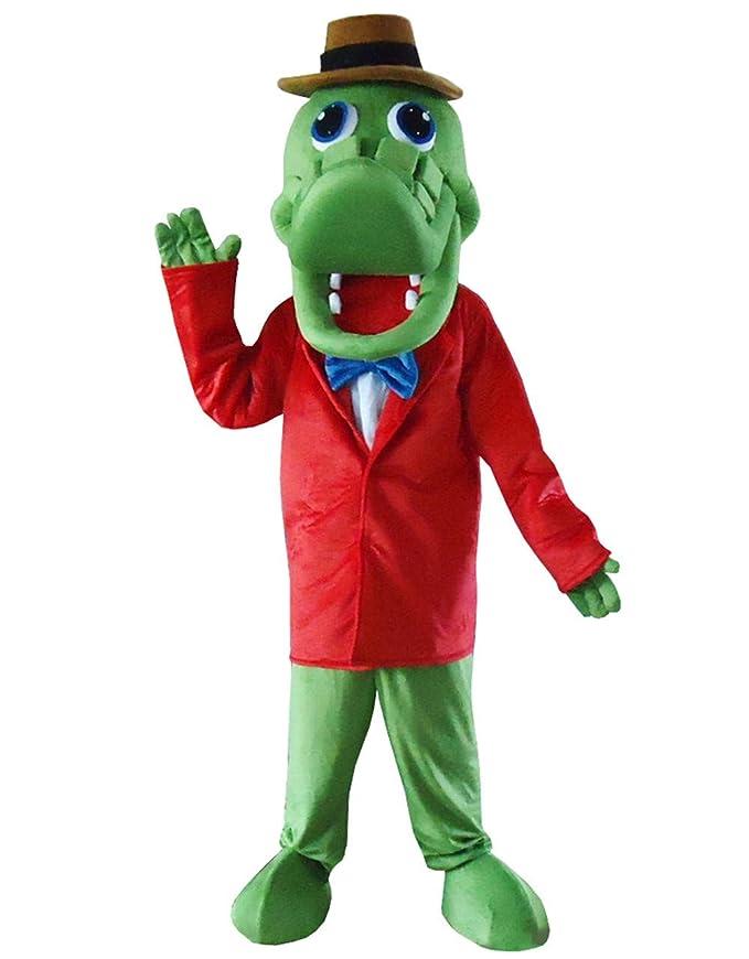 Amazon.com: Mr Crocodile - Disfraz de cocodrilo, disfraz de ...