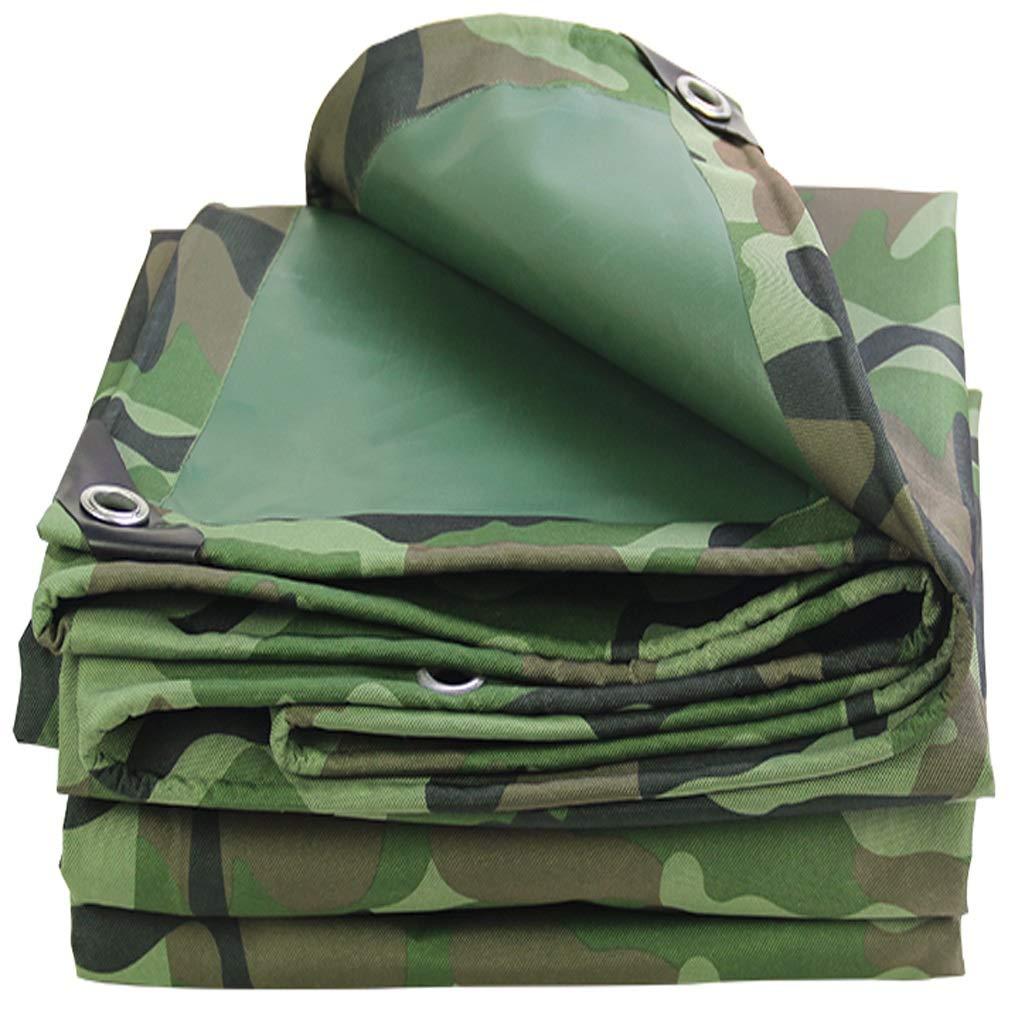 3x12m GRPBZ BÂche de Camouflage, épaisse imperméable résistante résistante de Toile de Tissu d'Oxford d'isolation de Prougeection Solaire Double de bÂche tissée à Haute densité tissée de PV