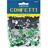 Amscan Awesome Soccer Themed Party Confetti Saver Pack Supplies (12 Piece), Multicolor