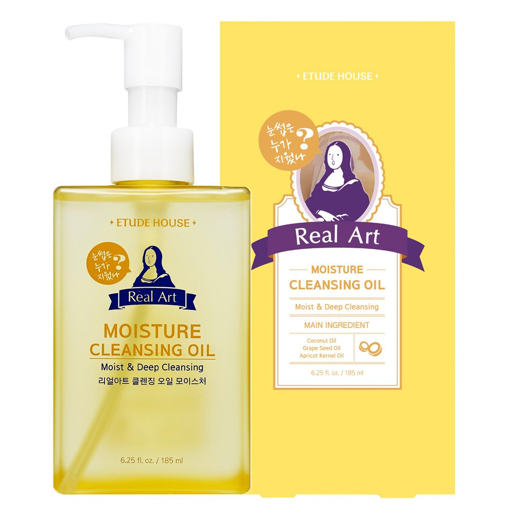 ETUDE HOUSE Real Art Cleansing Oil Moisture ETUDE HOUSE Cosmetic Products