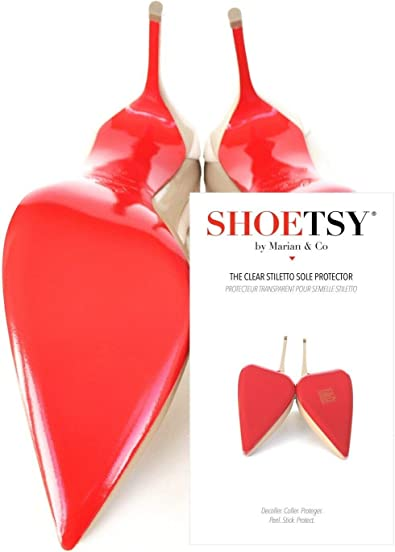 Shoetsy Sole Protectors, Crystal Clear