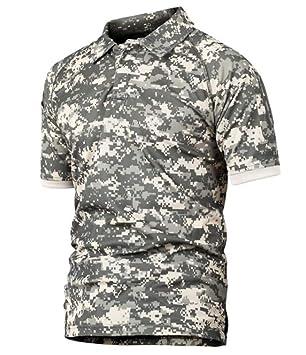poLo,Los Hombres Grises Táctico Militar De Camuflaje Polo Shirt ...