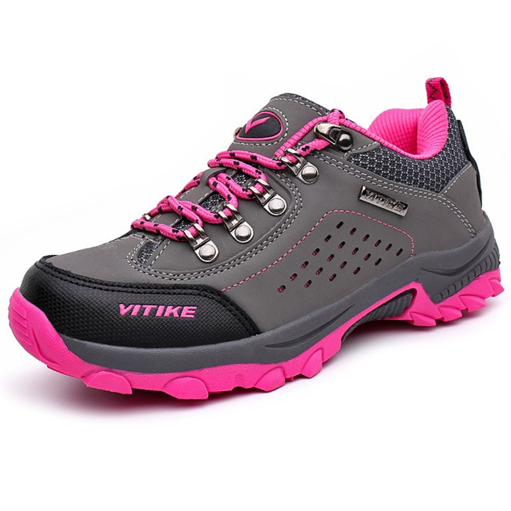 HO Winter Boys Girls Waterproof Hiking Shoes Toddler Kids Warm Anti Slip Athletic Sports Running Sneakers