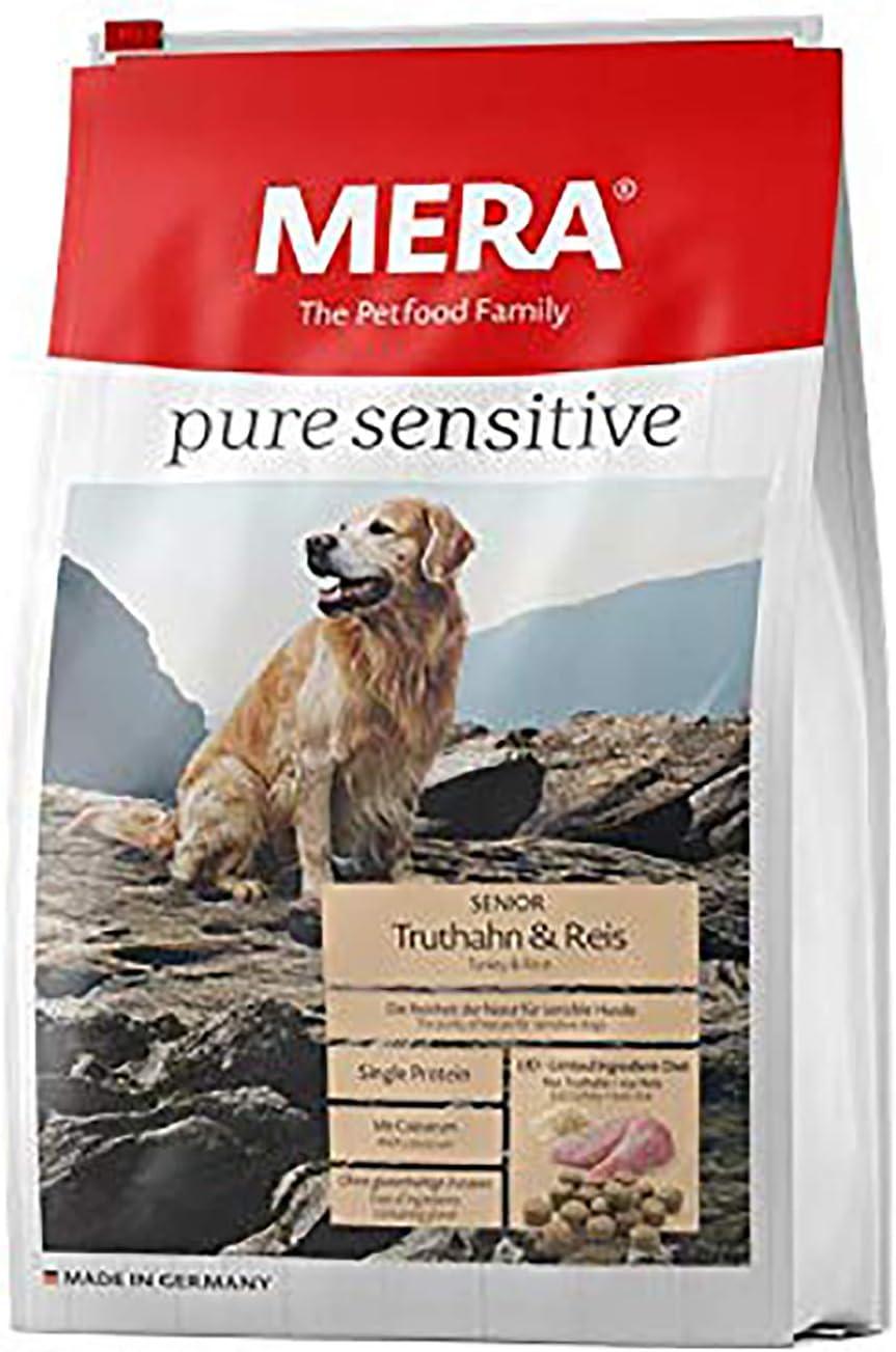 Mera Comida para Perros Pure Sensitive Senior, 4 kg