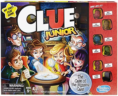 Hasbro Gaming-HAS-C1293-0000 (-) Clue Junior Juego, Color marrón/a, Original Version (C1293): Amazon.es: Juguetes y juegos