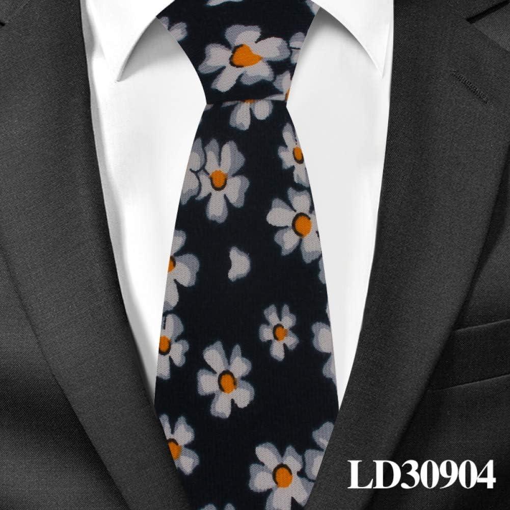 DYDONGWL Corbata Fina Hombre,Corbata de niño Corbata Floral de ...