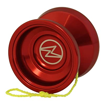 Yoyo King Proteus Professional Responsive Trick Aluminum Yoyo with Ball Bearing Axle for Kids with Extra String (red): Toys & Games