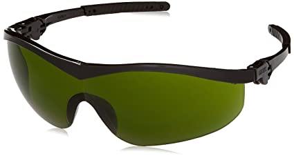 d5d0a8778769 Image Unavailable. Image not available for. Color  MCR Crews ST1130 Storm Safety  Glasses 3.0 IR Green Lens ...