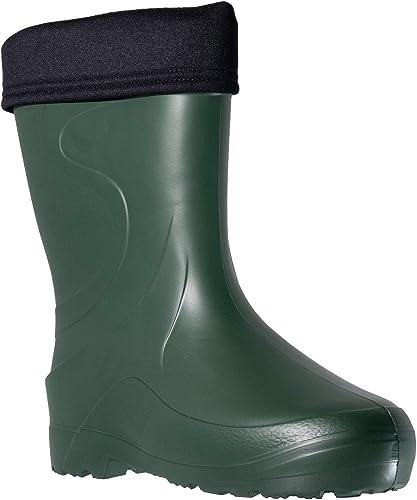 Fagum Stomil Mujer Botas de Lluvia - Botas Impermeables con Forro Polar - Zapatos de jardín Antideslizantes: Amazon.es: Zapatos y complementos