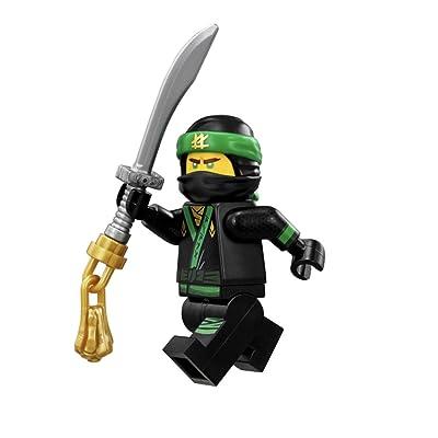 LEGO The LEGO Ninjago Movie Minifigure - Lloyd Green Ninja with Sword (70612): Toys & Games