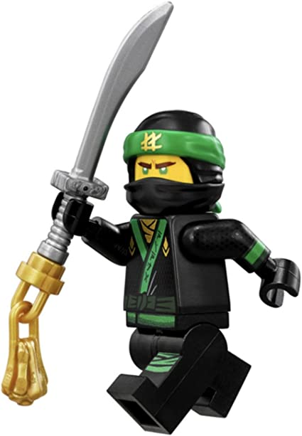 LEGO The LEGO Ninjago Movie Minifigure - Lloyd Green Ninja with Sword (70612)