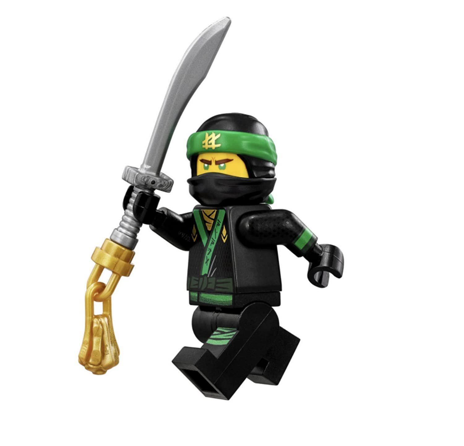 NEW Lego Ninjago Ninja Minifig GOLD WEAPON SET w//Minifigure Golden Dragon Sword