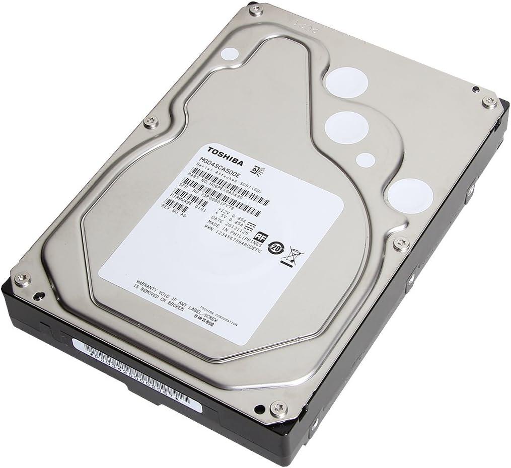 Bare Toshiba MG04ACA500A 3.5 inch 5TB SATA 6Gb//s 7.2K RPM 128MB 4Kn Tomcat