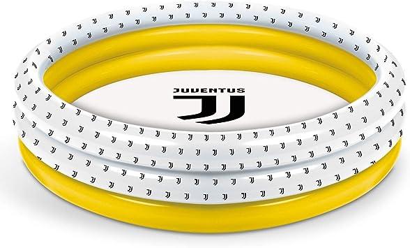 Mondo Toys – F.C. Juventus | 3 Rings Pool – Piscina Hinchable para niños con 3 Anillos – Diámetro 100 cm – Capacidad 84 litros – 16868