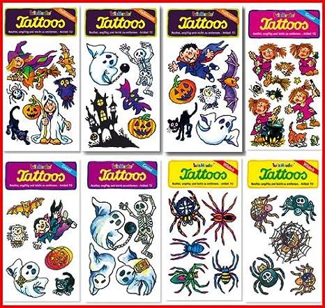 Lutz Mauder Tattoos - Tatuajes para niños, diseño de Halloween con ...