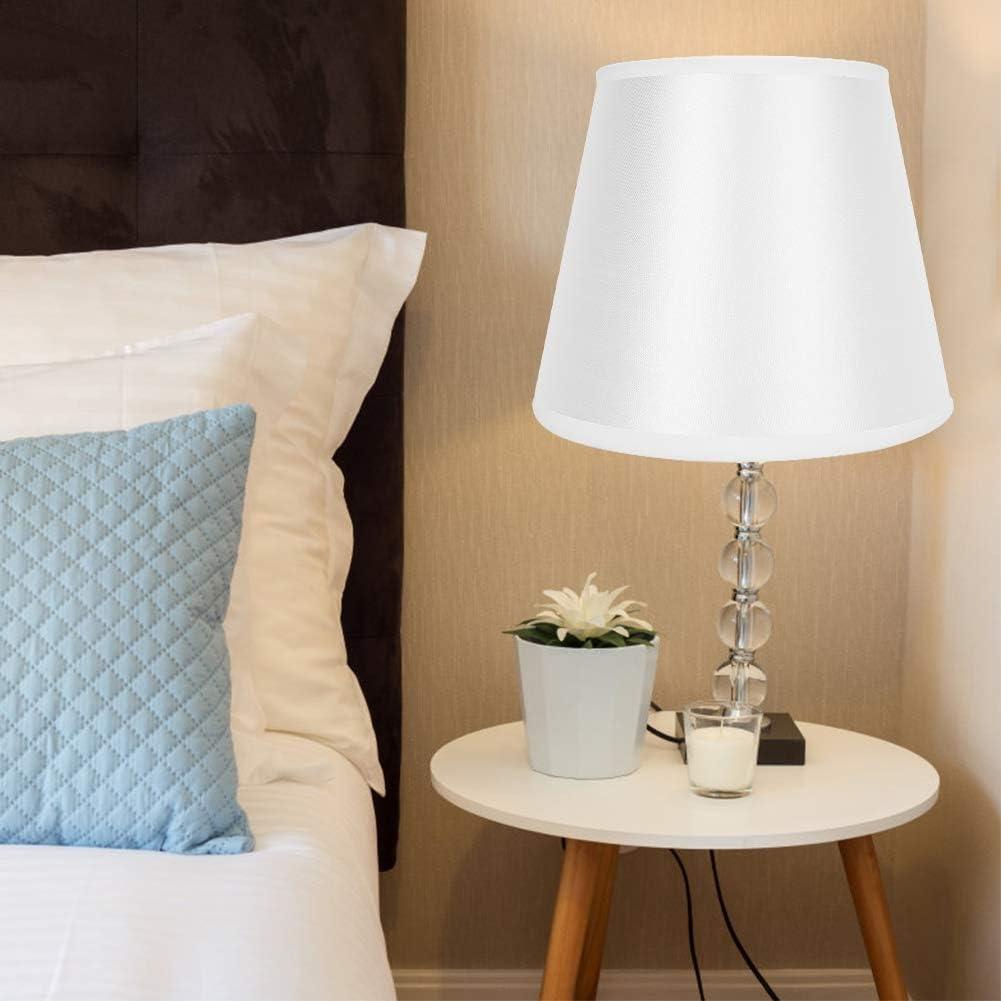 Pantalla, Cubierta de la lámpara, Tela Material Duradero para lámpara para Sala de Estar Ligera Comedor: Amazon.es: Hogar