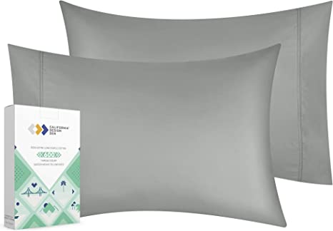 LUXURY QUALITY 100/%Cotton Sage Pillowcases with 800 Tc Set of 2 Pillow Cover