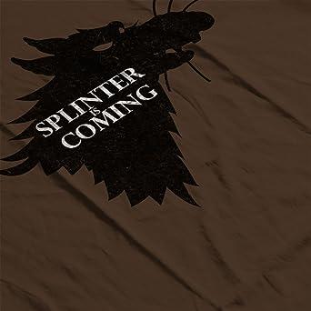 Splinter Is Coming Teenage Mutant Ninja Turtles Mens T ...