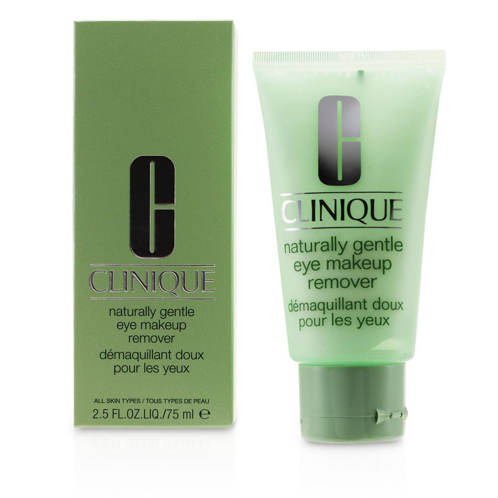 CLINIQUE by Clinique Clinique Naturally Gentle Eye Make Up Remover--75ml/2.5oz for WOMEN ---(Package Of 2)