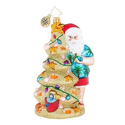 Christopher Radko Christmas In The Sand Christmas Ornament - Amazon.com: Christopher Radko Christmas In The Sand Christmas