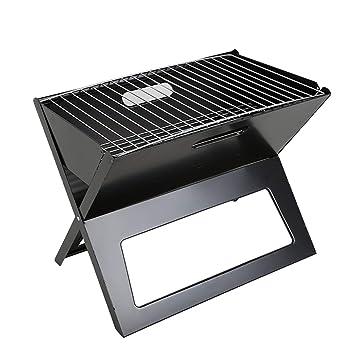 Plegable Barbacoa Parrilla Plegable Portátil de Carbón de leña Caja de la Estufa de BBQ para