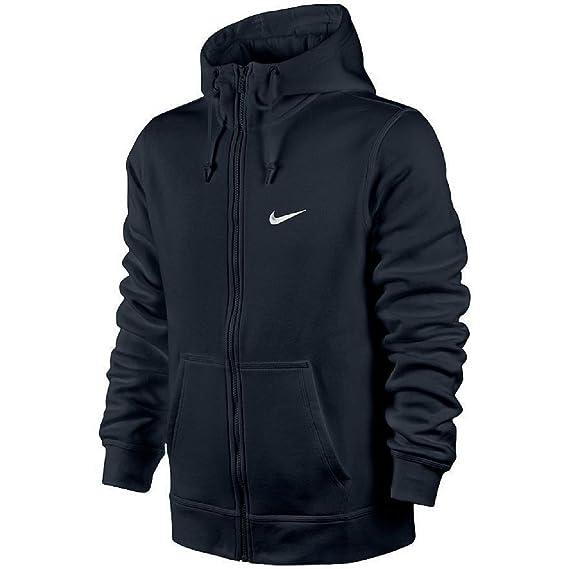 fast delivery uk availability nice cheap Nike Club Swoosh Men's Full Zip Fleece Hoodie Hooded Jacket Top ...