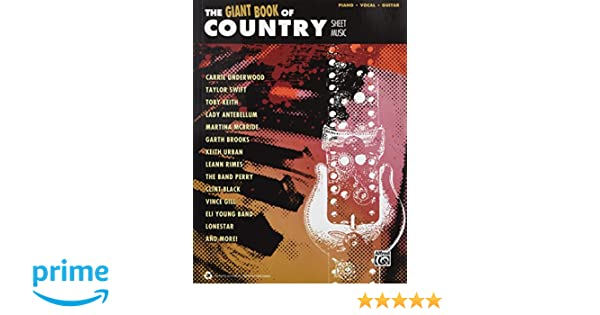 The Giant Country Piano Sheet Music Collection Pianovocalchords