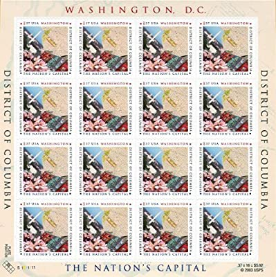 District of Columbia Washington DC Cherry Blossoms 2003 US 37c MNH Stamps 3813 by USPS